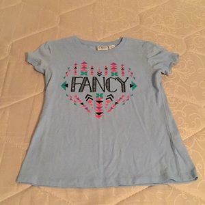 Cato size large girls tee shirt